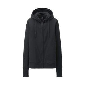 Áo chống nắng dành cho nam Uniqlo màu đen 09 black