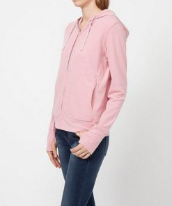 Áo chống nắng Uniqlo màu hồng nhạt 10 pink