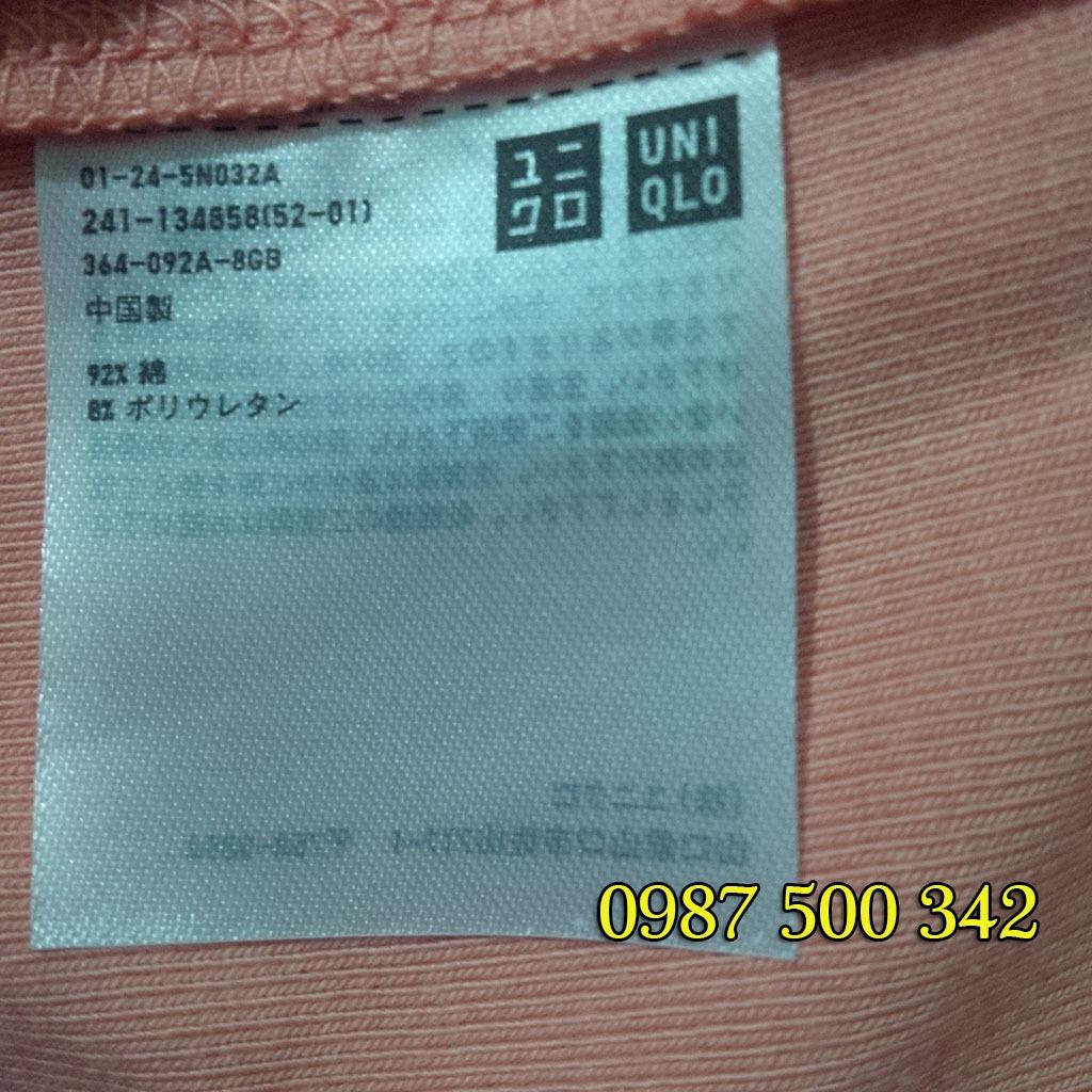 Mác áo chuẩn Uniqlo