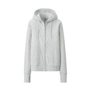Áo chống nắng Uniqlo màu ghi xám 02 light gray
