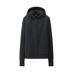 Áo chống nắng Uniqlo màu đen 09 black
