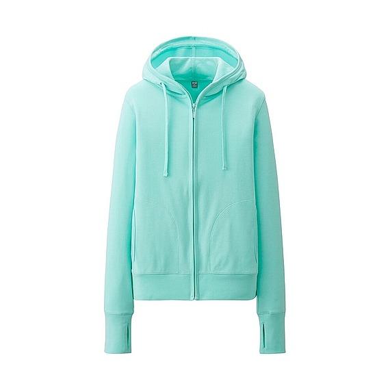 Áo chống nắng Uniqlo màu xanh ngọc 53 green