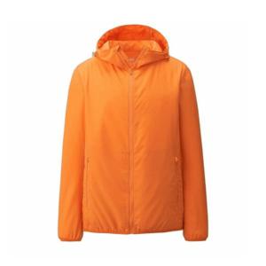 Áo gió nam Uniqlo màu cam