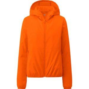 Áo gió Uniqlo màu cam