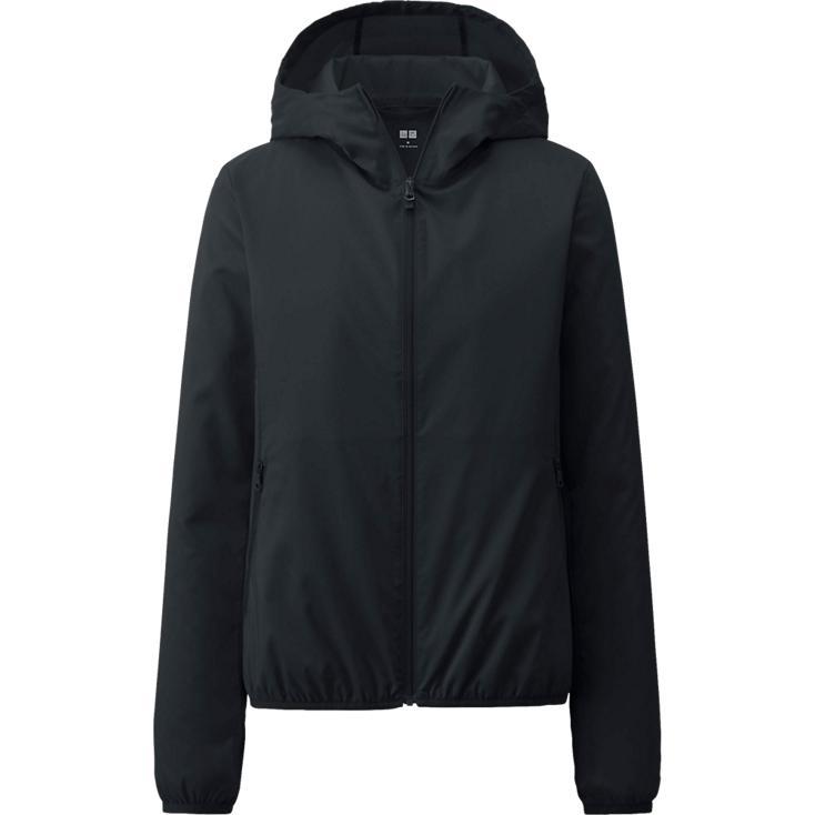 Áo gió Uniqlo màu đen