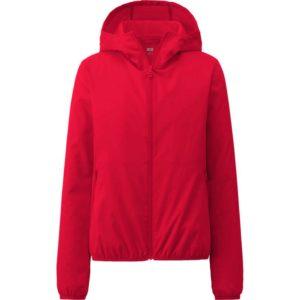 Áo gió Uniqlo màu đỏ
