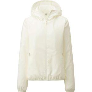 Áo gió Uniqlo màu trắng