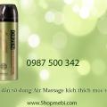 Hướng dẫn sử dụng Air Massage kích thích mọc tóc Orzen