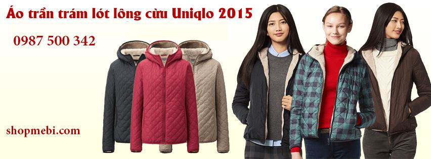 Áo trần trám lót lông cừu Uniqlo 2015