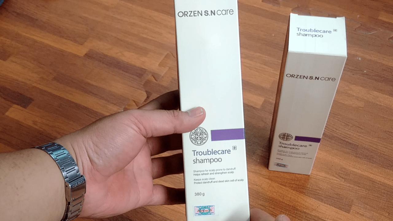 Dầu gội đặc trị chống rụng tóc Orzen dành cho da đầu gầu