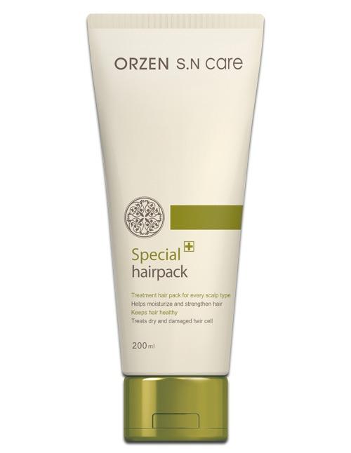 Mặt nạ đặc trị nuôi dưỡng chân tóc Orzen SN Care Special Hairpack