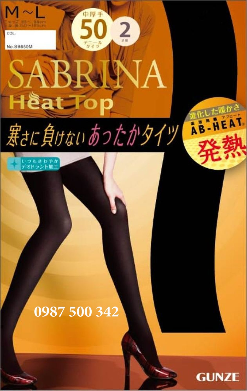 Quần tất Sabrina mỏng 50