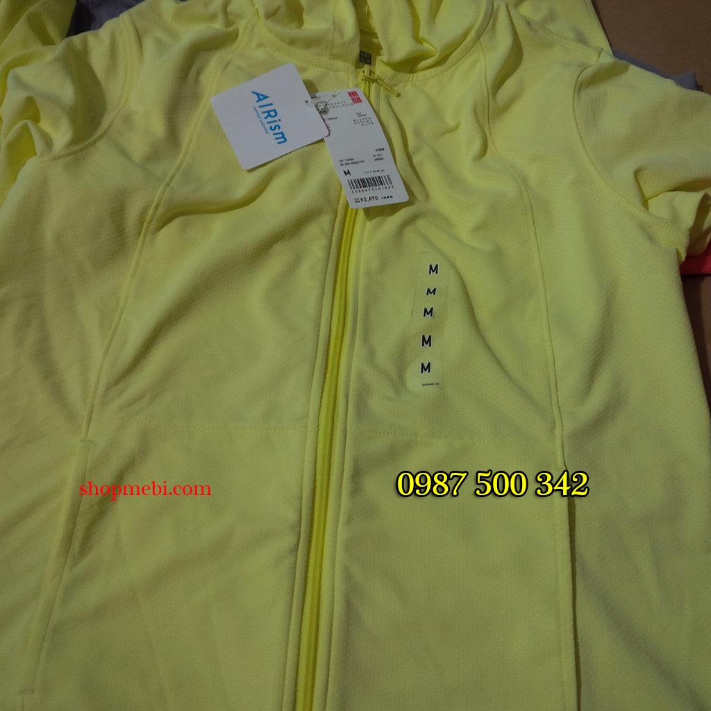 Thiết kế áo làm mát Uniqlo AiRism 2016