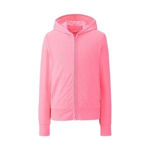 Áo chống nắng Uniqlo cho trẻ em chất thun lạnh màu hồng
