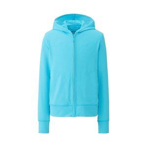 Áo chống nắng chất thun lạnh Uniqlo cho trẻ em màu xanh