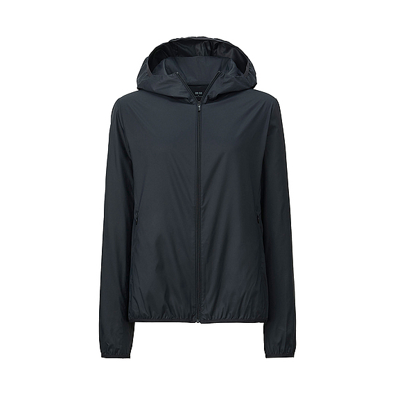 Áo gió Uniqlo màu đen 09 black