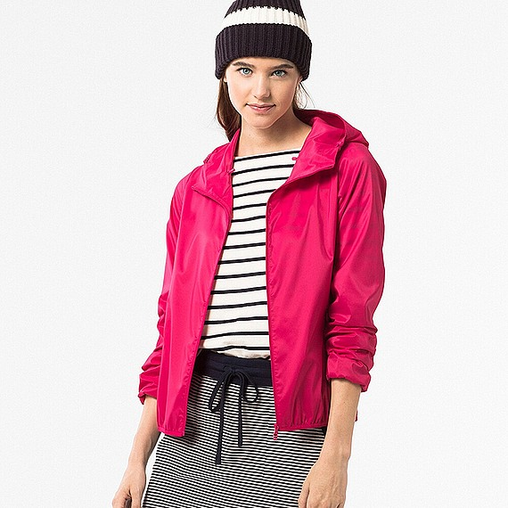 áo gió Uniqlo 2016 màu hồng
