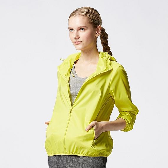 Áo gió màu vàng chanh 51 Green