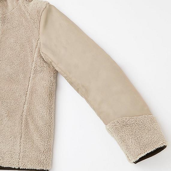 Áo trần trám lót lông cừu Uniqlo 2016 màu xanh rêu