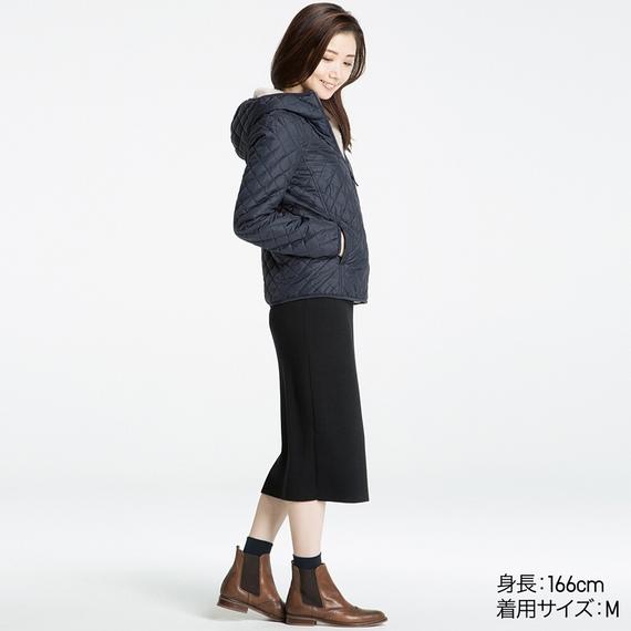 Mẫu áo trần trám lót lông cừu Uniqlo 2016