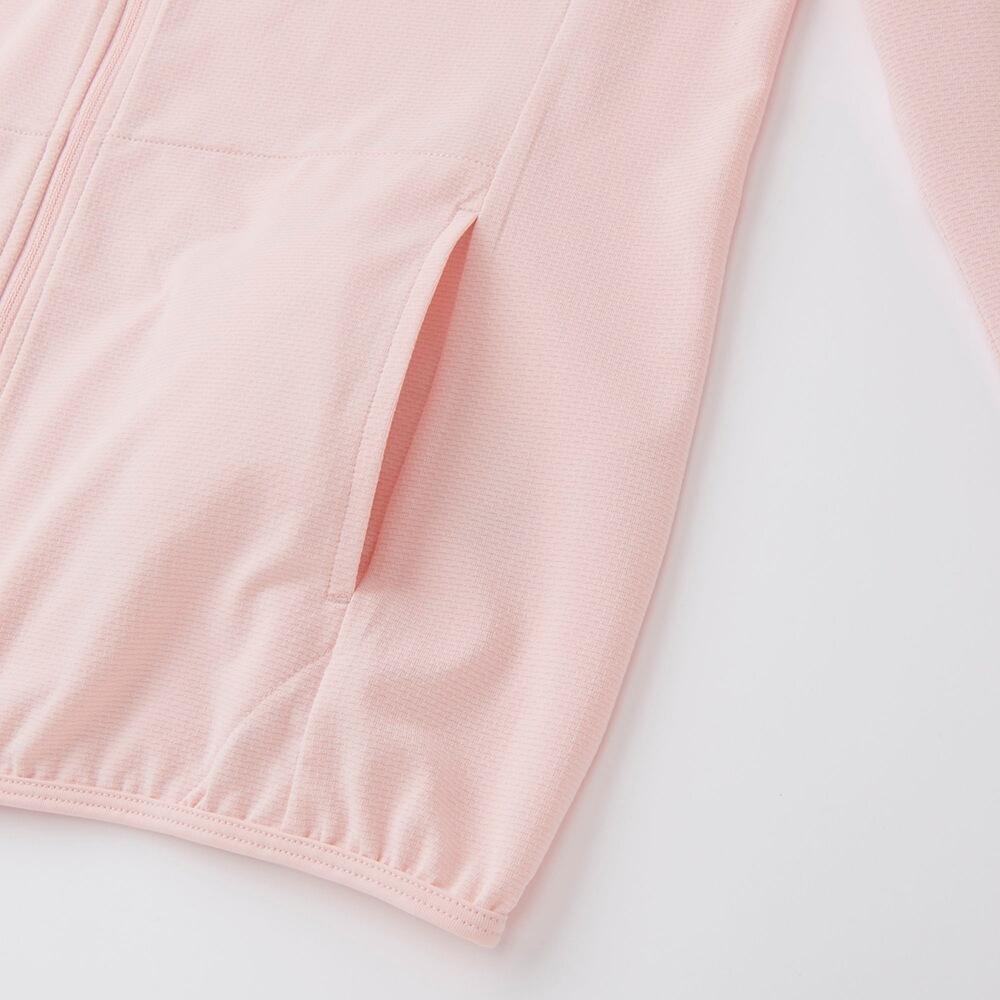 Áo chống nắng làm mát Uniqlo AiRism 2017 màu hồng nhạt