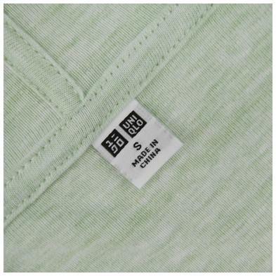 mác Áo chống nắng cotton Uniqlo 2017 màu xanh lá cây xước 53 GREEN