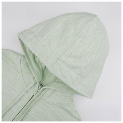 Mũ Áo chống nắng cotton Uniqlo 2017 màu xanh lá cây xước 53 GREEN
