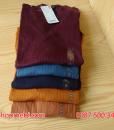 Bảng màu áo len tăm Uniqlo Nhật