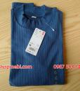 Áo len tăm Uniqlo màu xanh biển đậm