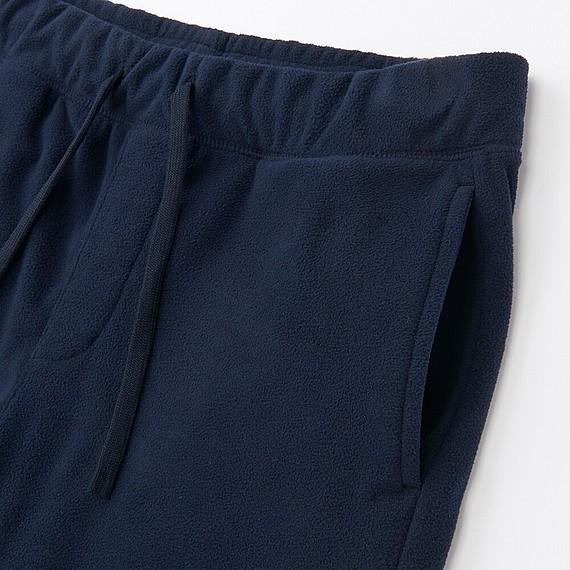 Bộ đồ mặc nhà Uniqlo nam chất nỉ màu navy - túi quần mặt trước