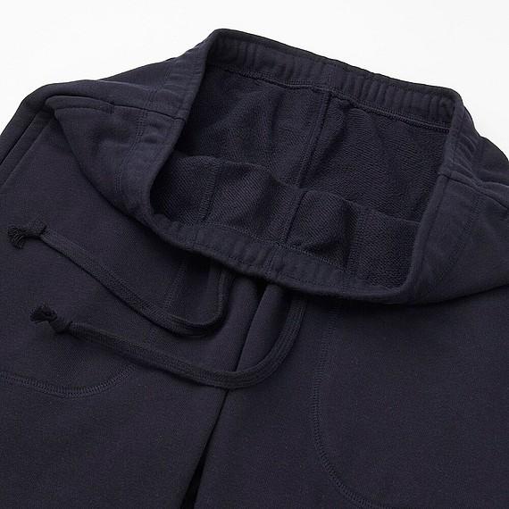 Bộ đồ mặc nhà Uniqlo cho nam chất thun da cá màu navy