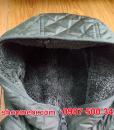 Mũ áo trần trám lót lông cừu Uniqlo 2017