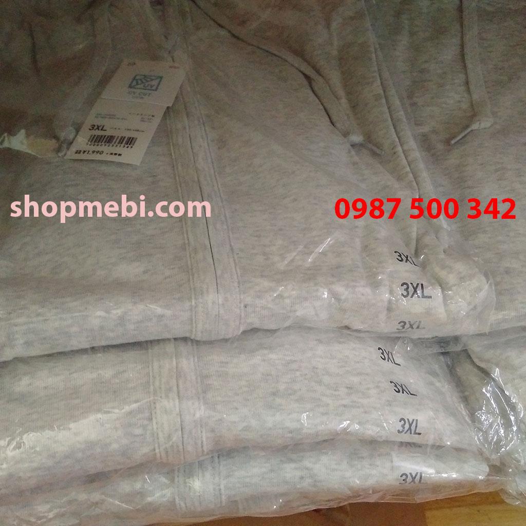 Áo chống nắng cotton Uniqlo hàng có sẵn