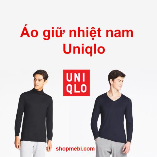 Áo giữ nhiệt nam Uniqlo Heattech