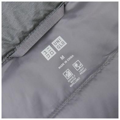Áo lông vũ Uniqlo made in china