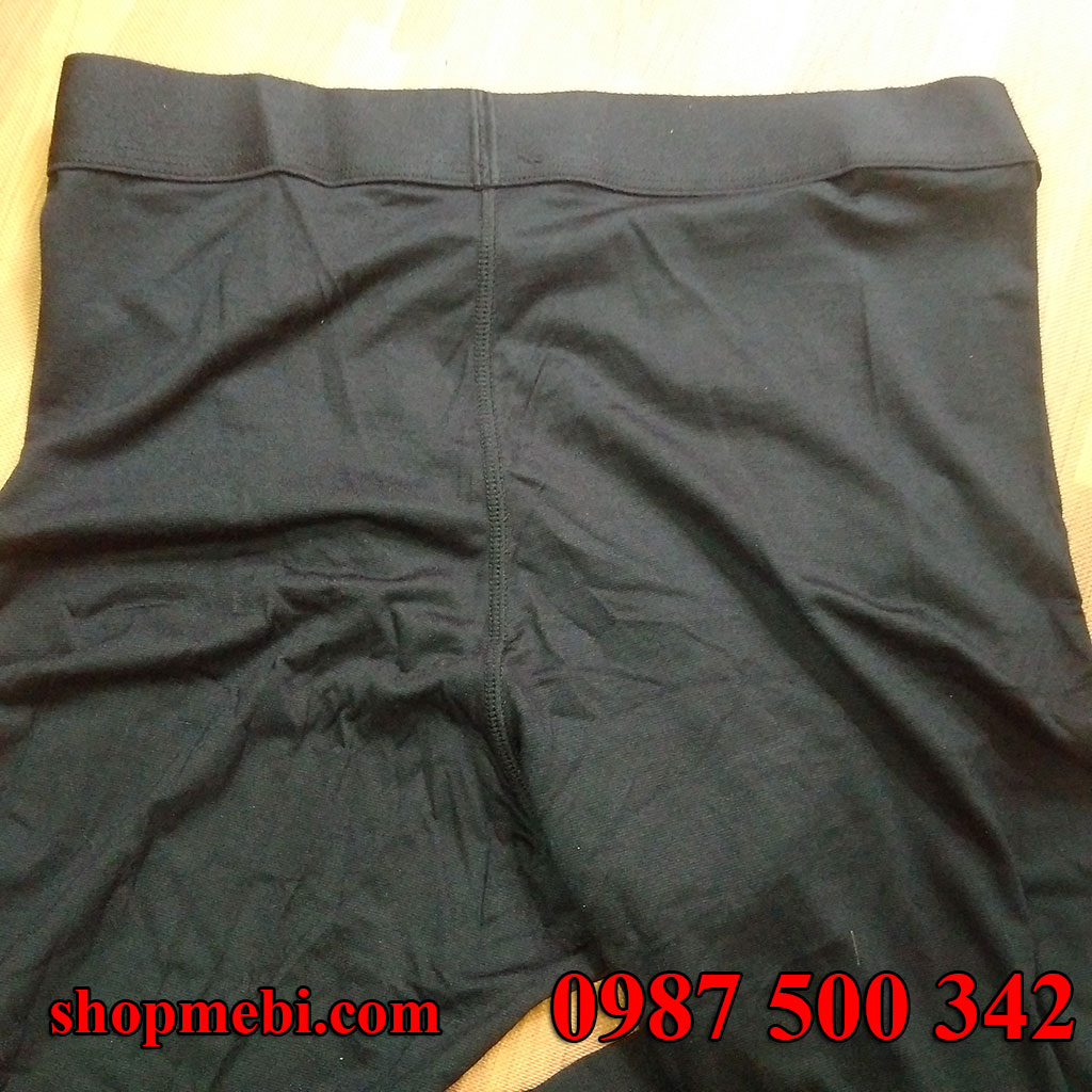 Mặt sau quần giữ nhiệt nam Heattech Uniqlo