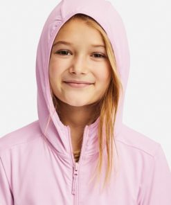 Mũ Áo chống nắng trẻ em Uniqlo Nhật Bản 2019 màu hồng