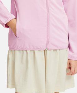 tay và túi áo chống nắng trẻ em Uniqlo Nhật Bản 2019 màu hồng