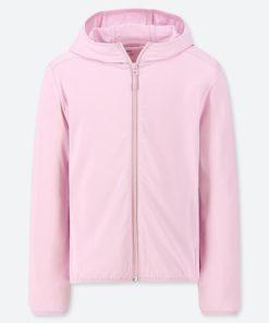 Áo chống nắng trẻ em Uniqlo AiRism 2019 màu hồng nhạt 10 Pink