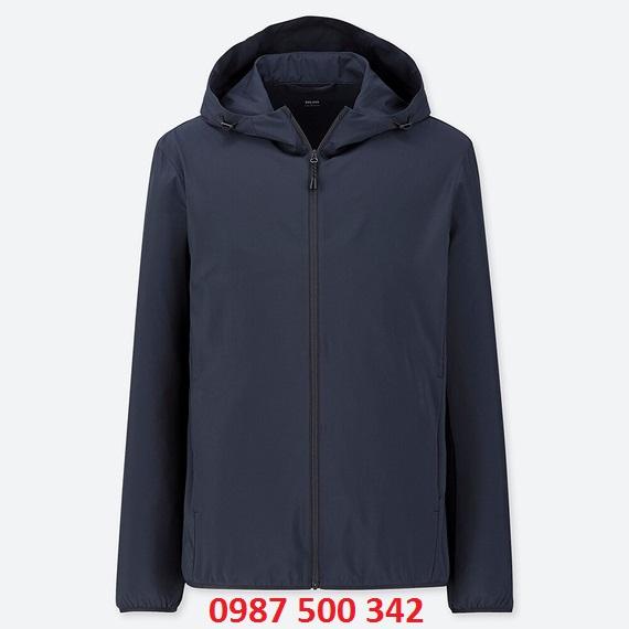 Áo gió nam Uniqlo 2019 màu xanh đen