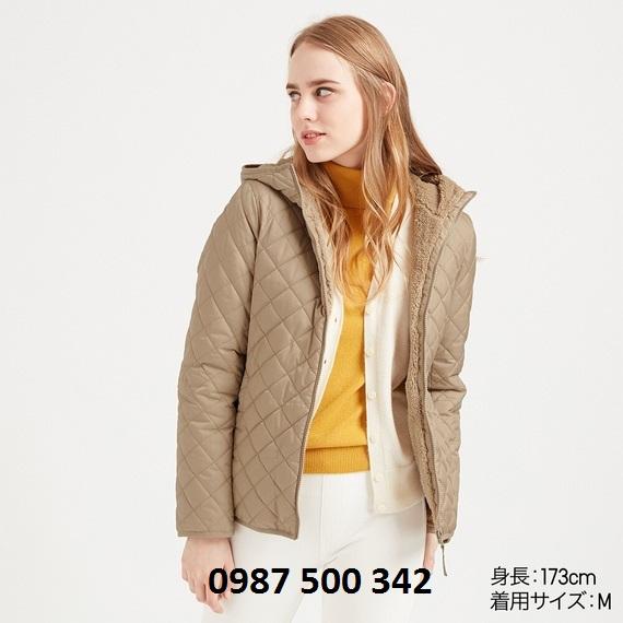Áo trần trám lót lông cừu Uniqlo 2019 Nhật Bản