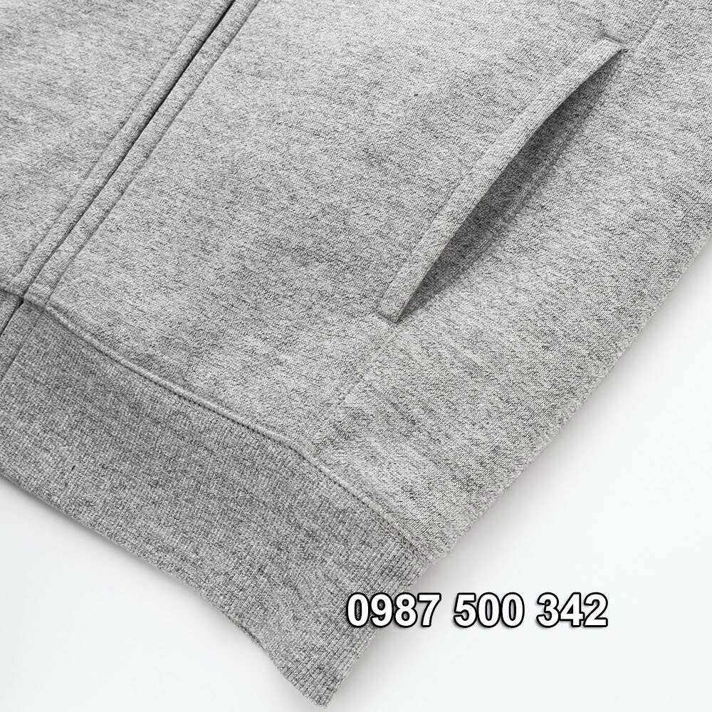 Đai áo và túi áo nỉ lót lông cừu nam Uniqlo 2019 - 2020