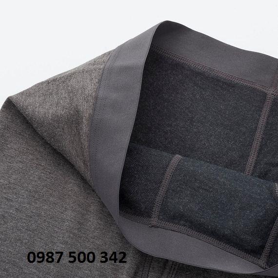 Chất vải quần giữ nhiệt nam Heattech Extra Warm Uniqlo