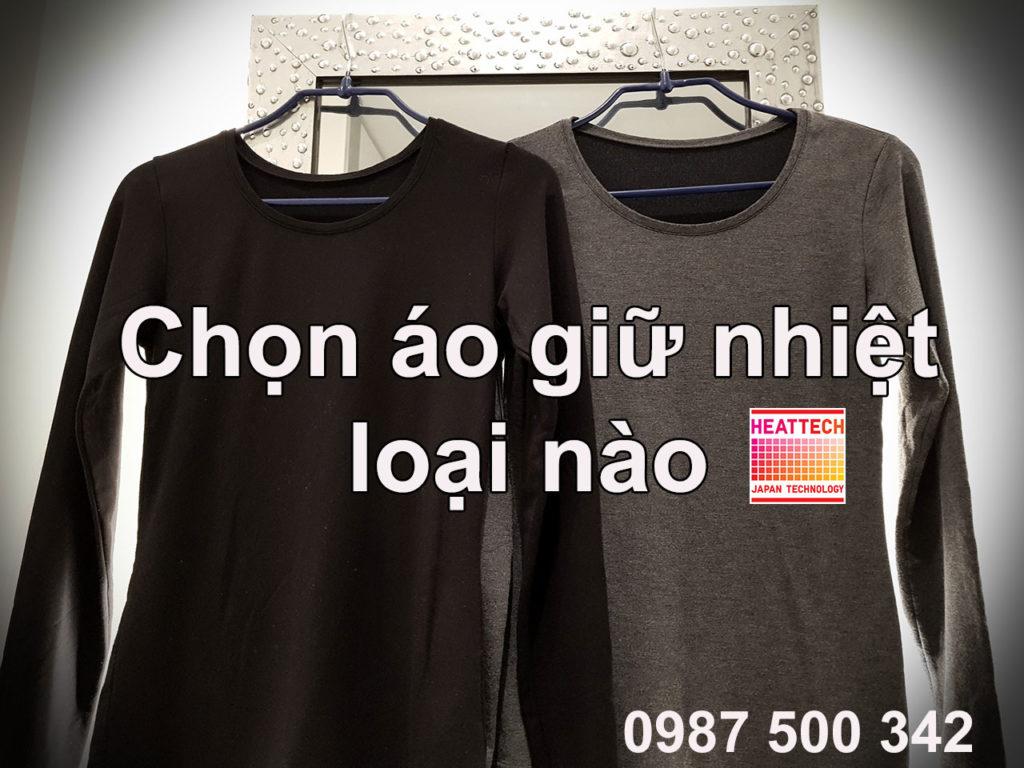 Chọn áo giữ nhiệt heattech Uniqlo