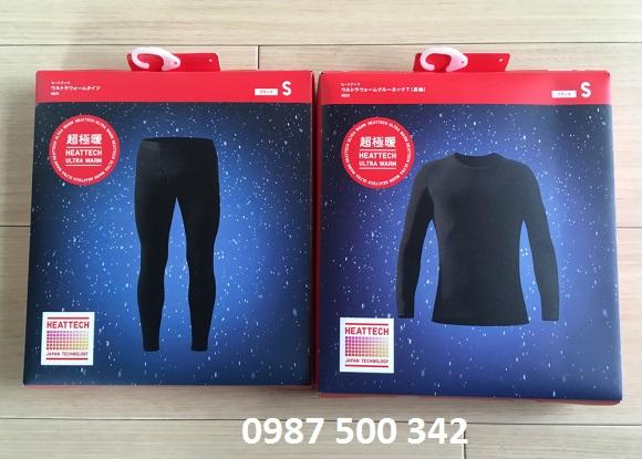 Quần áo giữ nhiệt Ultra Warm Heattech Uniqlo