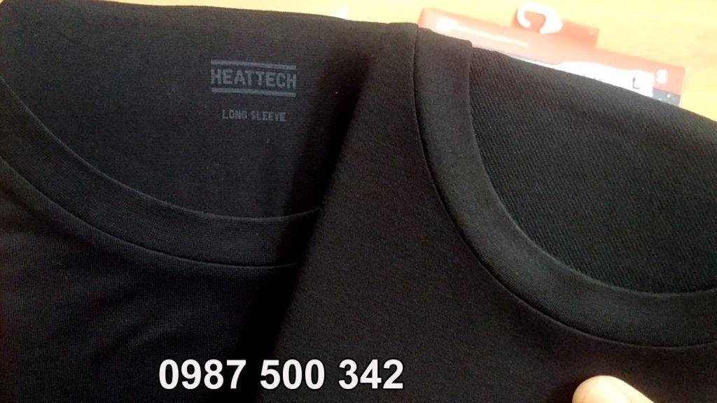 So sánh chất vải áo giữ nhiệt Extra Warm và áo giữ nhiệt thường