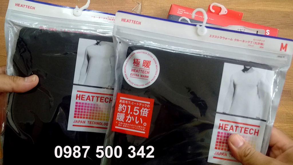 So sánh áo giữ nhiệt Heattech Extra Warm và áo giữ nhiệt loại thường