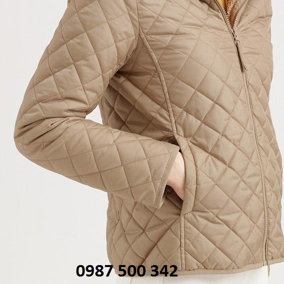 Tay áo và túi áo trần trám lót lông cừu Uniqlo 2019