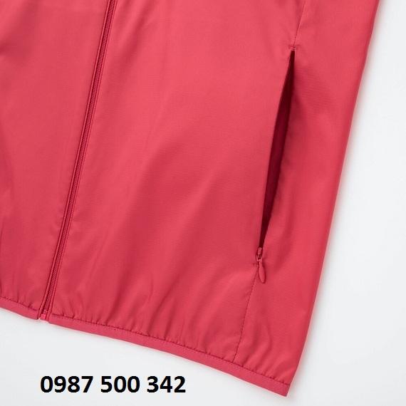 Túi áo gió nữ Uniqlo có khóa