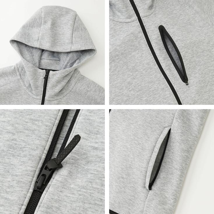 Túi áo khoác nỉ thể thao nam Uniqlo
